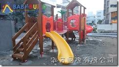 國際蒙特梭利竹北幼兒園 Babybuild木頭遊具