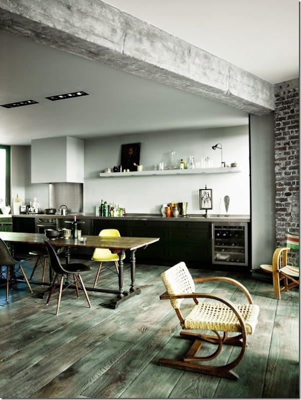 loft-stile-industriale-francese-pareti-vetrate