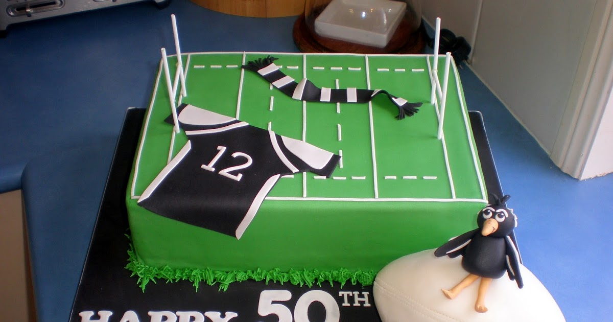 Sugar Siren Cakes Mackay Magpies Rugby League Cake