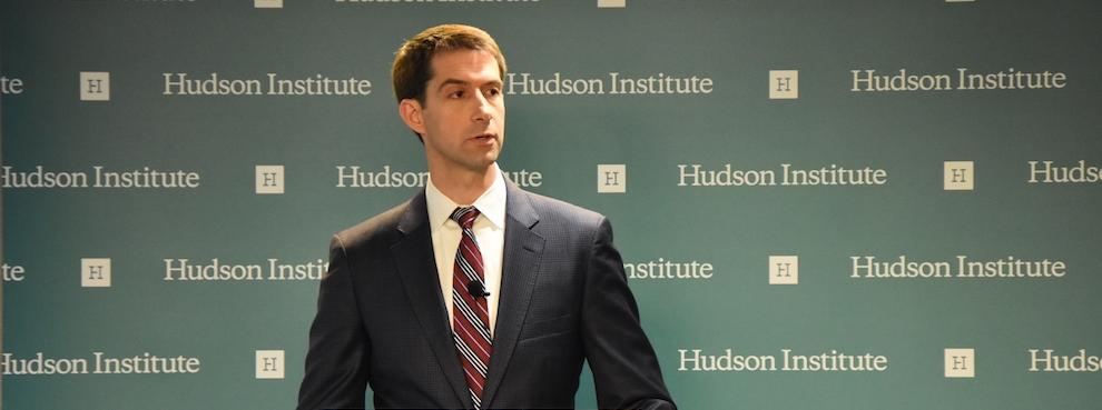 Senator Tom Cotton: crime and an 'under-incarceration problem'