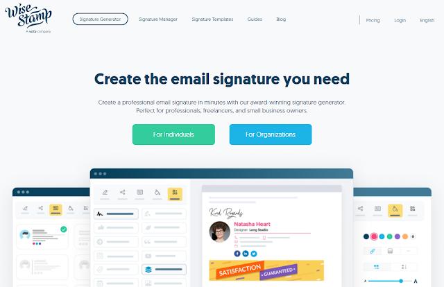 Gerador de assinatura de e-mail