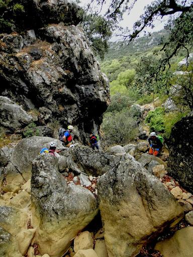 29/09/2013 Crónica del descenso del Barranco del Pajaruco. DSC06224
