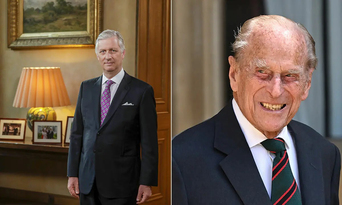King Philippe's Tribute to Prince Philip at Brussels Home Revealed