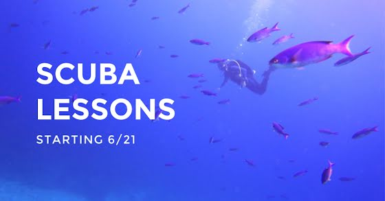 Scuba Lessons - Facebook Event Cover Template