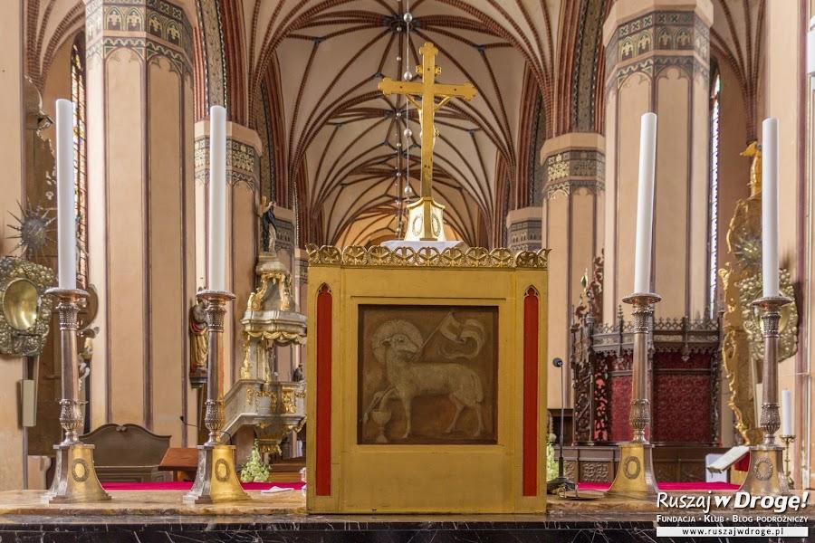 Herb Księstwa Warmińskiego i Biskupów Warmińskich w archikatedrze we Fromborku