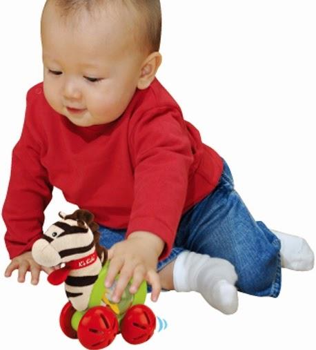 Chơi với Xe hình ngựa Ryan K'S KIDS giúp bé nhà bạn phát triển toàn diện