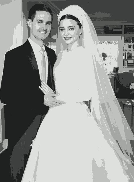 Miranda Kerr shares first photos from her wedding to Snapchat CEO Evan Spiegel