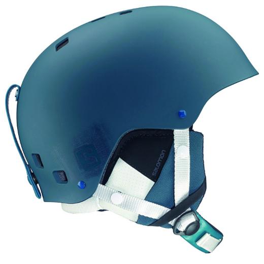 Salomon Brigade Ski Helmet Blue Matte Mens - image