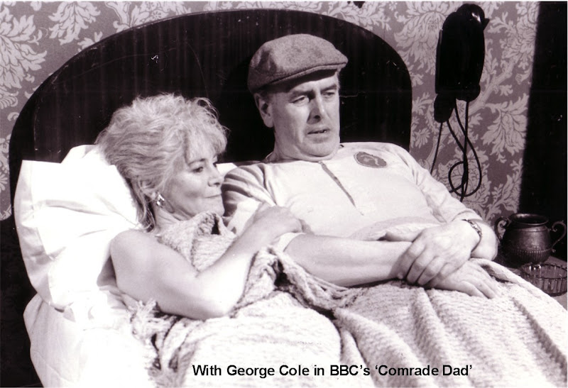 Barb Ewing With George Cole In Comarade Dad, Barb Ewing
