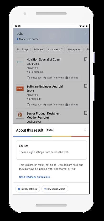 Google Made SERPs Result