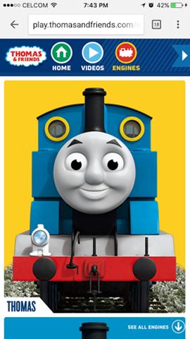 Thomas and Friends Berpisah Tiada!  3