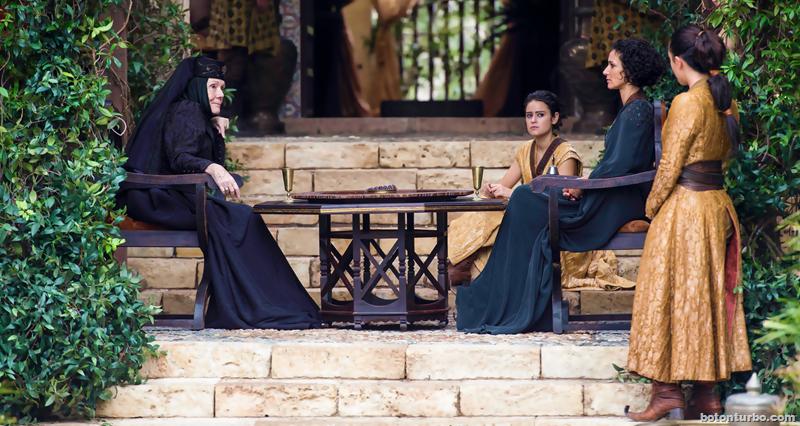 Olenna y las ineptas de Dorne