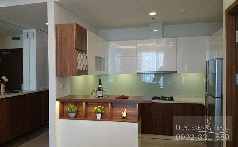 khu bếp tại căn hộ bán diện tích 134m2