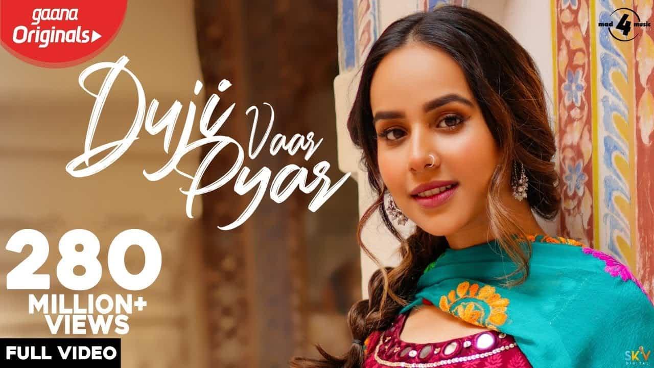 Duji Vaar Pyar Lyrics - Sunanda Sharma