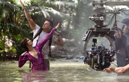 La primera imagen de Sandra Bullock y Channing Tatum filmando en Samaná