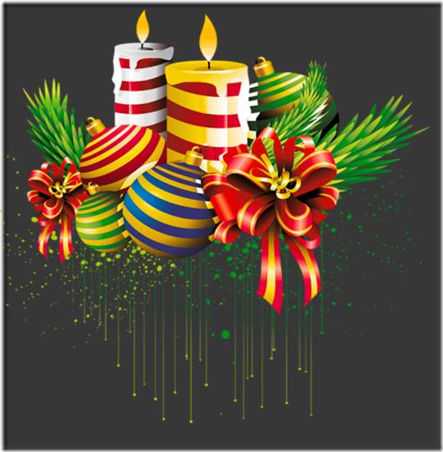 fotos velas de Navidad (13)