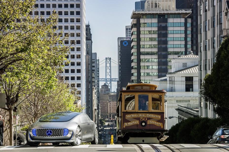 Mercedes Benz F 015 Luxury In Motion In San Francisco