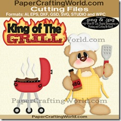 bear king of the grill cfb-325