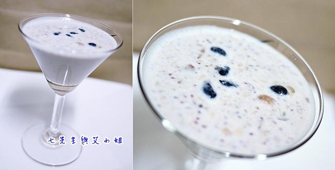 8 與牛奶打混著喝