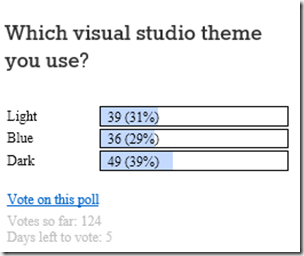 visual-studio-theme-survey