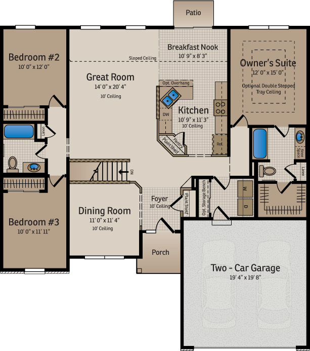 Floor Plans And Home Designs Available