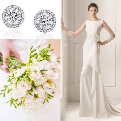 Peinados, vestidos, joyas...ideas e inspiraciones de boda