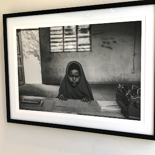 Black and White Framed Photograph