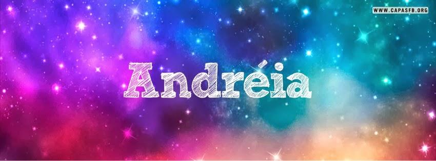 Capas para Facebook Andréia