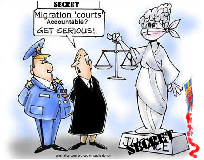 courts accountable.