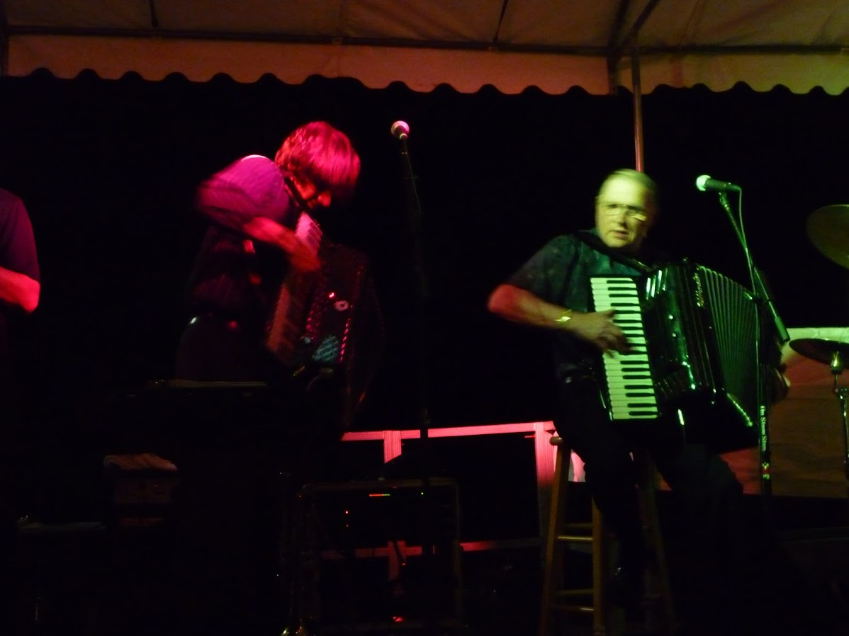 Don played with protégée Alex Meixner at the Sugar Creek Slavic Fest