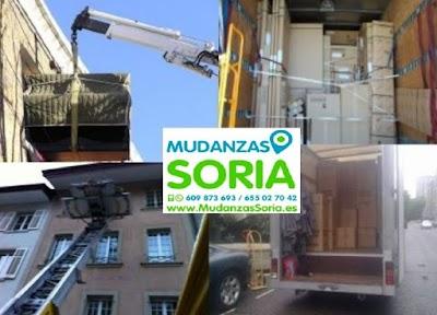 Empresa de mudanzas en Soria