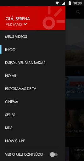 NOW  NET e Claro  screenshots 1