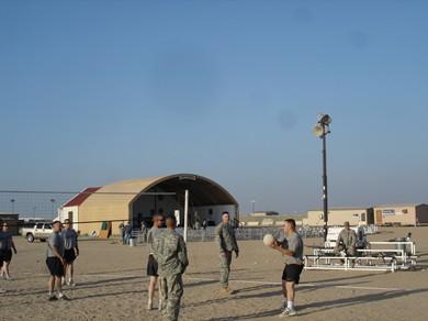 Kuwait - American military base