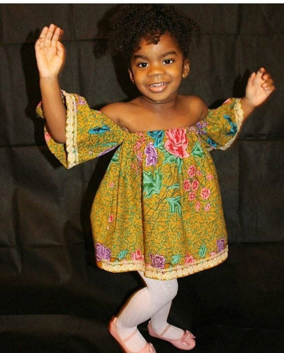 Ankara dresses for children (9)