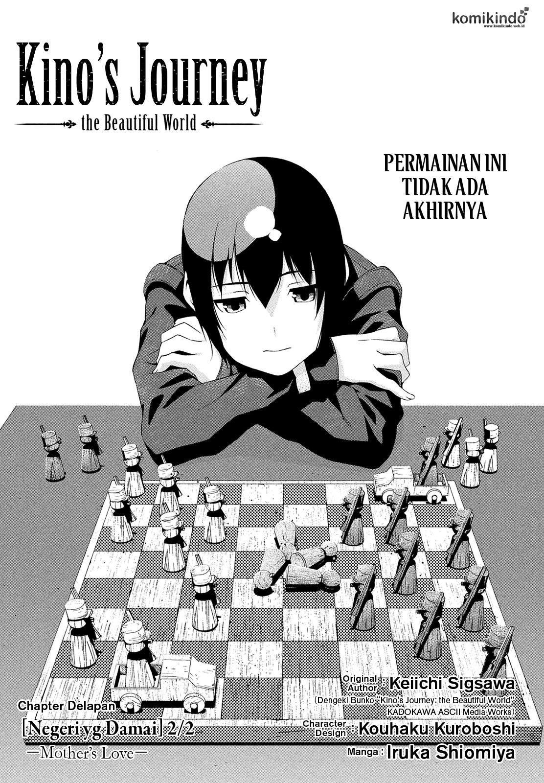 Baca Manga Kino no Tabi -The Beautiful World- (Shiomiya) Chapter 8 Bahasa Indonesia