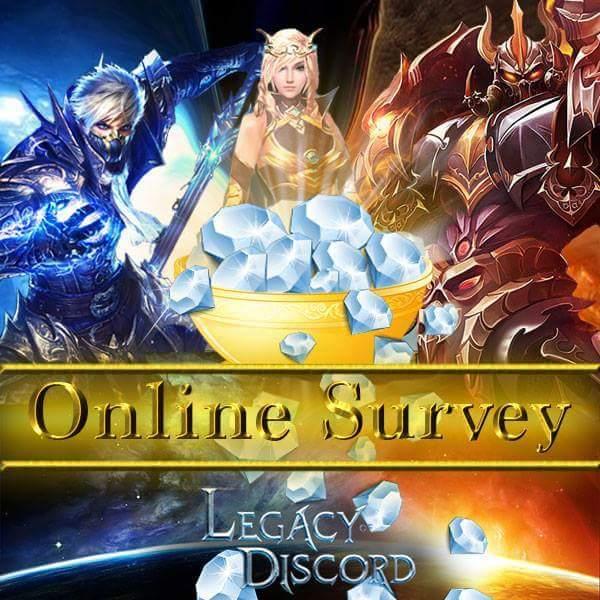 Legacy of Discord Ödüllü Anket