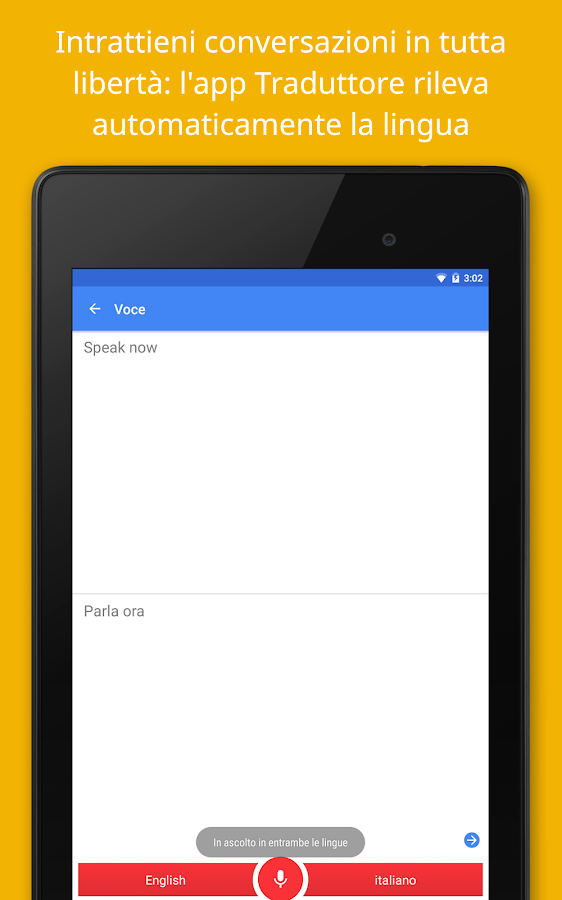 Google Traduttore- screenshot