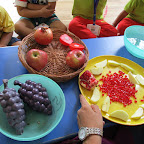 Introduction of Apple, Pomegranate & Grapes (Playgroup) 16.08.2016