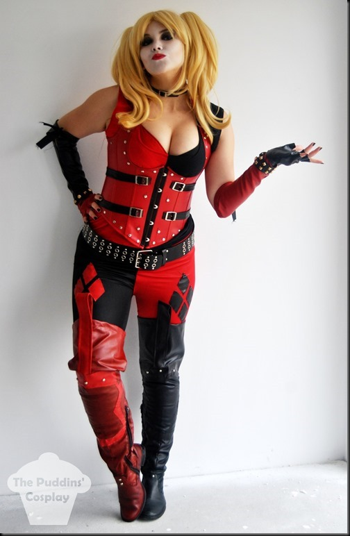 harley_quinn__arkham_city__3_by_thepuddins-d9hqd0k