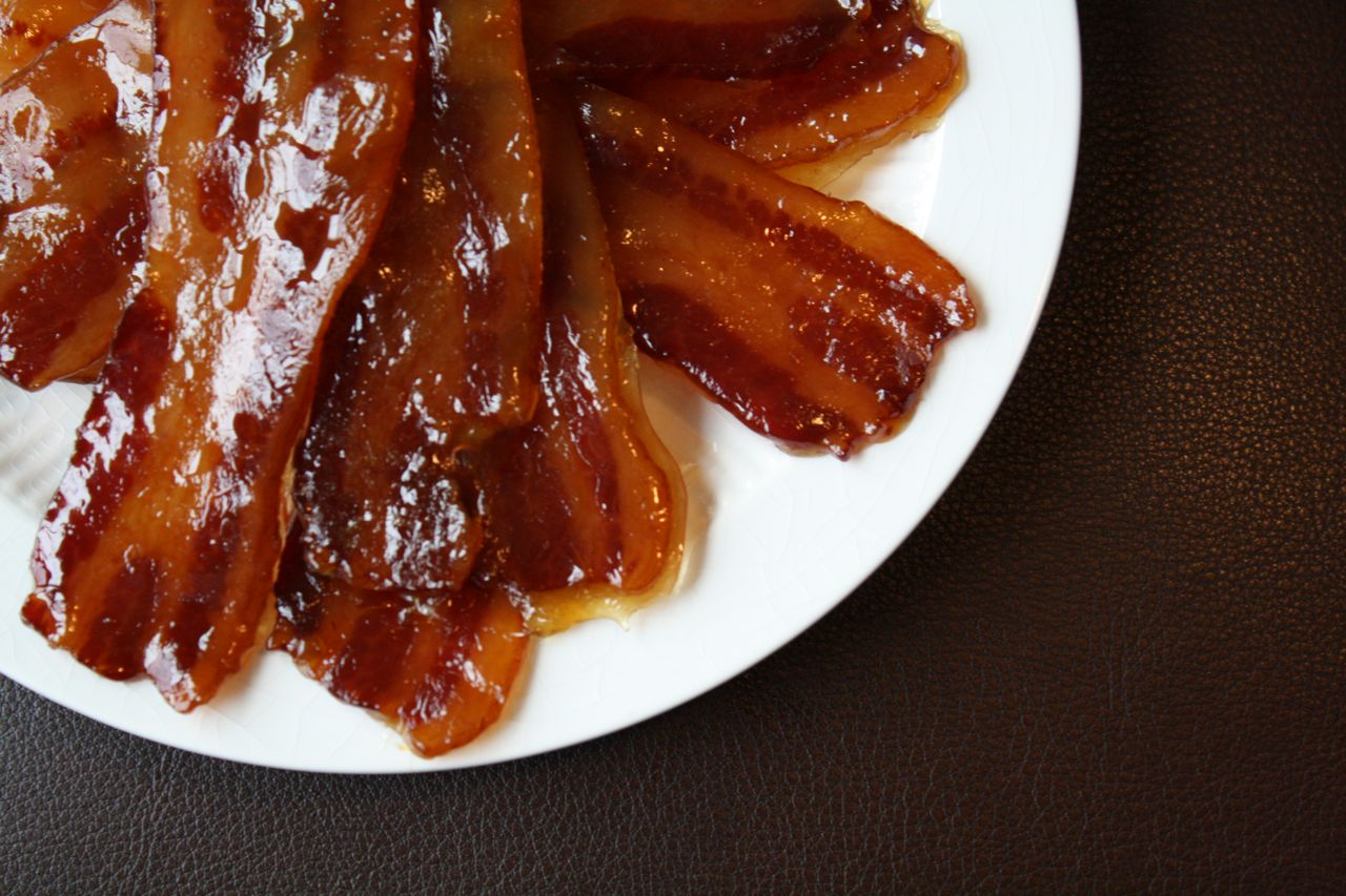 Forks Knives & Spades: Candied Bacon