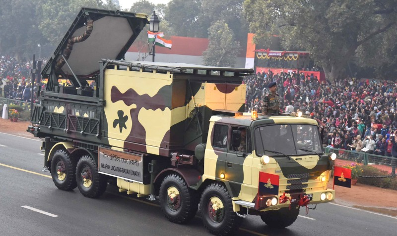 Weapon Locating Radar - Swathi - DRDO - Indian Army