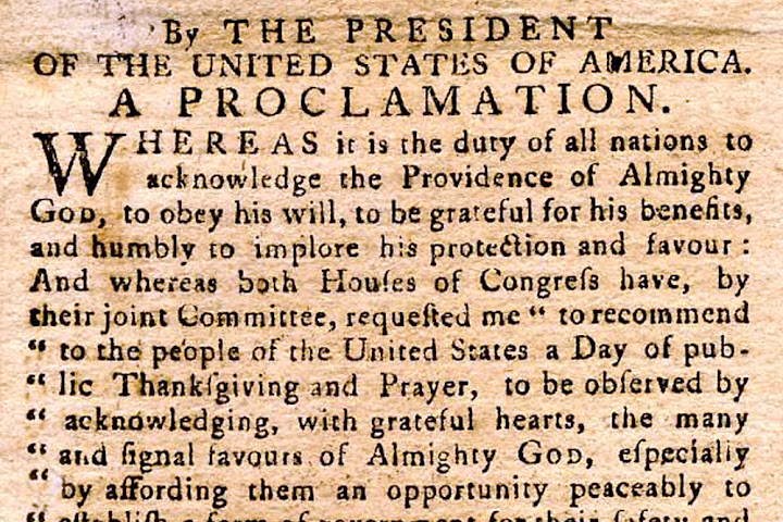 A legacy of faith and patriotism from the first Thanksgiving