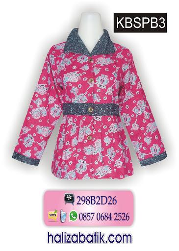 model baju batik terkini, baju online murah, busana batik