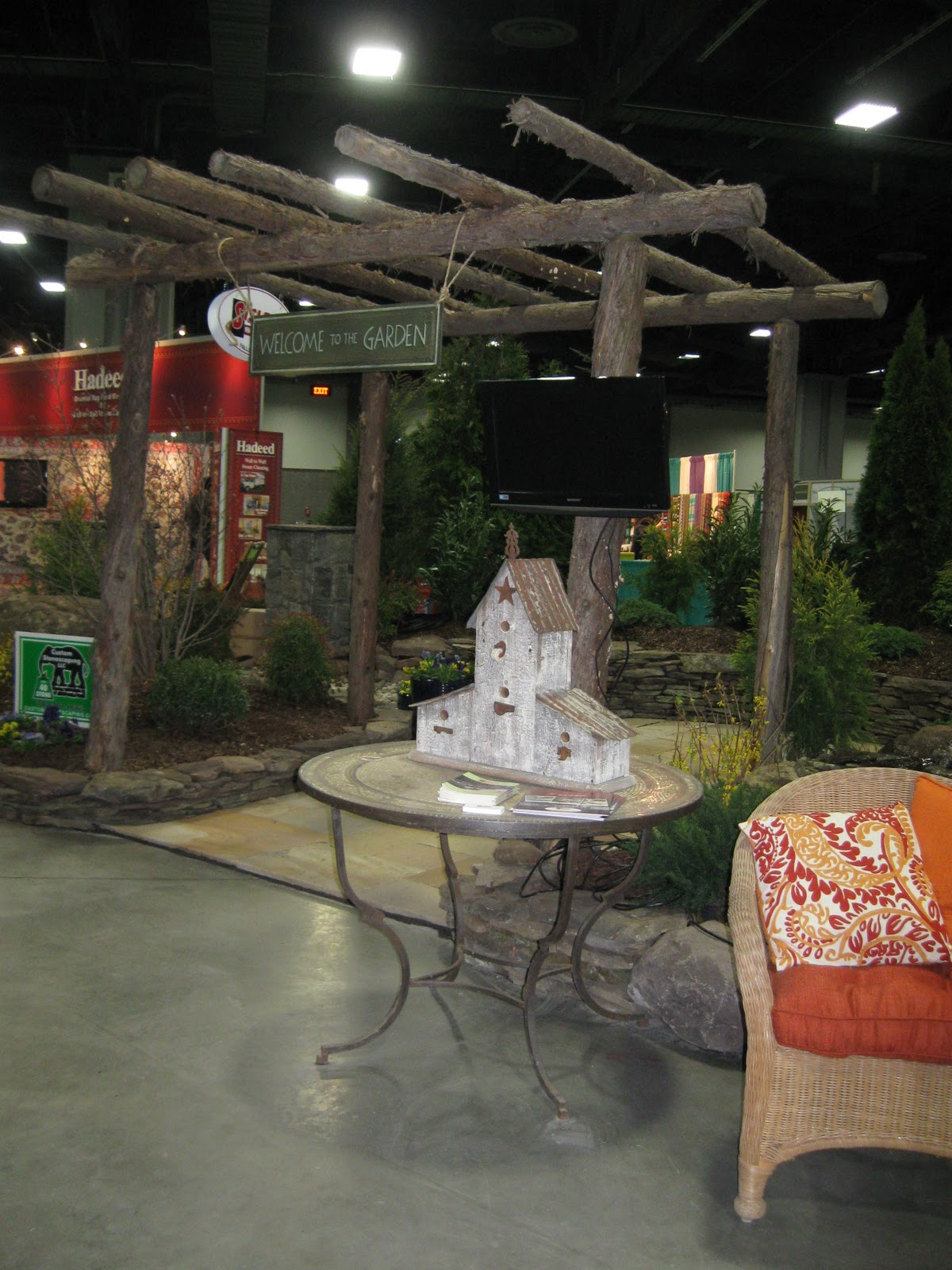 Here Are A Few Of The Award Winning Displays At The Washington Home U0026  Garden Show. I Co Judged These And Gave My Talk Yesterday, Now We Are On  The Final ...