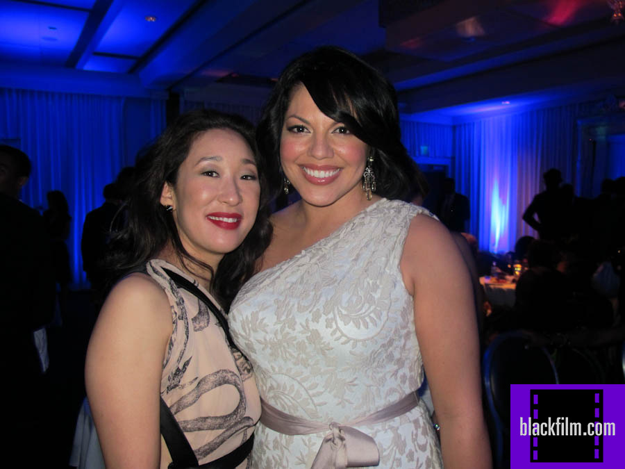 sandra oh sara ramirez naacp image awards after party