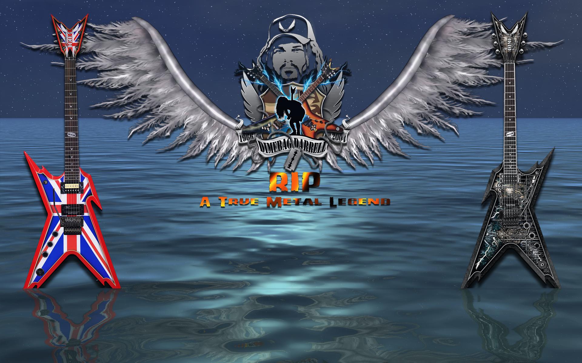 Hot Nfl Wallpaper Site Dimebag Darrell Tribute 2009 Wallpaper