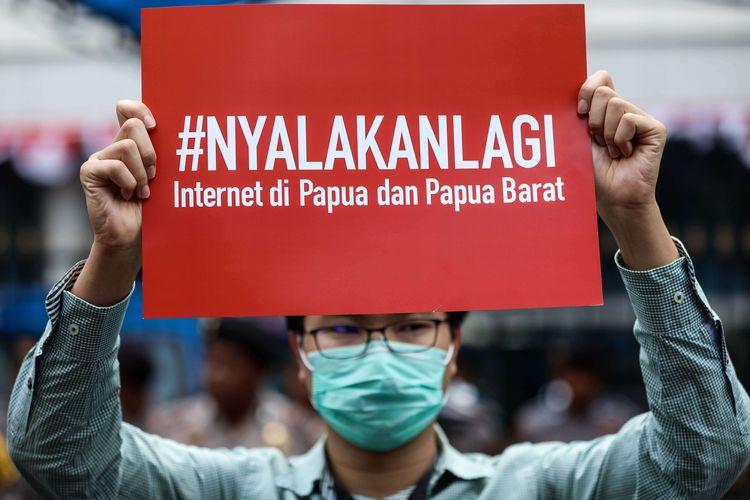 Internet di Papua Padam Lebih dari Satu Bulan, Menteri Johnny: Faktor Alam!