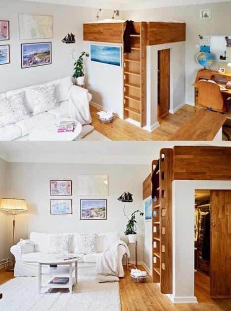 Tiny Ass Apartment Up A Ladder Even More Loft Beds