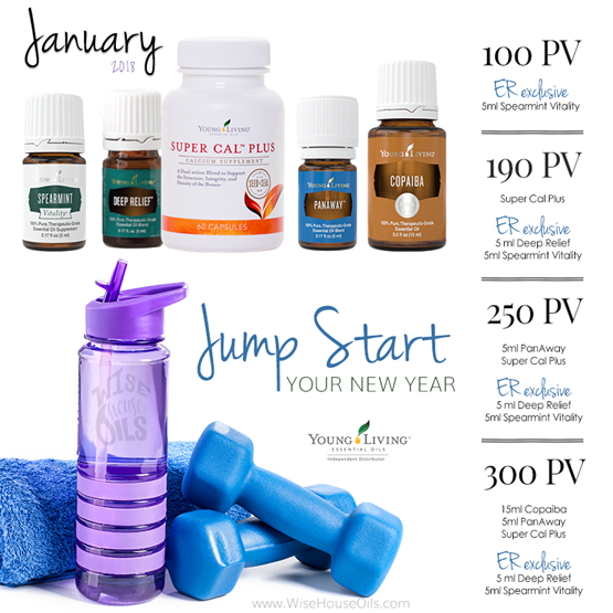 January 2018 Young Living Promo WHO 2