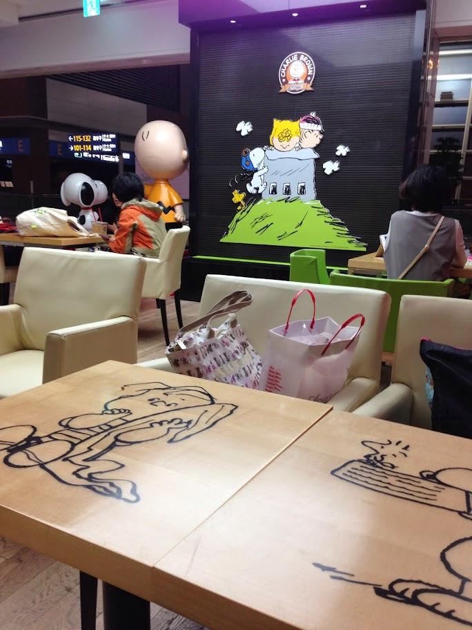 ソウル スヌーピーカフェ